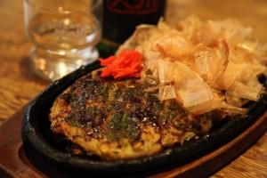 『山芋のお好み焼き』
